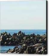 Santa Cruz Lighthouse Wide Canvas Print