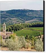 Santa Maria Novella Priory Tuscany Canvas Print by Mathew Lodge