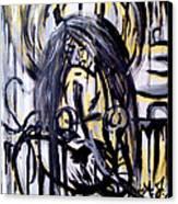 Sarge-7 On Fotoblur Canvas Print by Adriana Garces