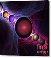 Satellite Canvas Print by Kim Sy Ok