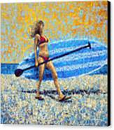 Saturday Canvas Print by Ned Shuchter