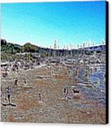 Sausalito Beach Sausalito California 5d22696 Artwork Canvas Print