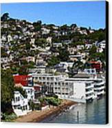 Sausalito Canvas Print by Greg Thiemeyer