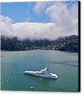Sausalito Skyline Canvas Print by Steven Lapkin