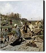 Savitski, Konstantin Apollonovitch Canvas Print by Everett