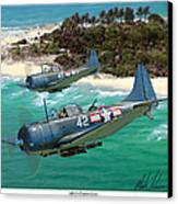Sbd Dauntless Canvas Print
