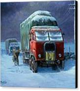 Scammell R8 Canvas Print by Mike  Jeffries