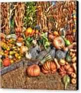 Scenes Of The Season Canvas Print by Joann Vitali