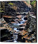 Scenic Cascade Canvas Print by Frozen in Time Fine Art Photography