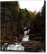 Scenic Kent Falls Canvas Print by Stephen Melcher