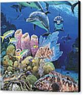 Scenic Route Re006 Canvas Print