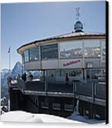 Schilthorn Canvas Print by David Yack