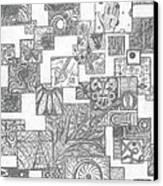 Schizo Canvas Print