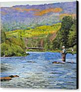 Schoharie Creek Canvas Print by Kenneth Young