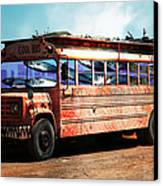 School Bus 5d24927 Canvas Print by Wingsdomain Art and Photography