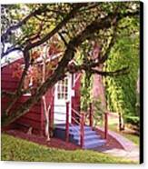 School House Canvas Print by Donald Torgerson