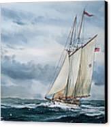 Schooner Adventuress Canvas Print by James Williamson