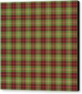 Scott Hunting Green Tartan Variant Canvas Print by Gregory Scott