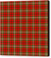 Scott Red Tartan Variant Canvas Print by Gregory Scott