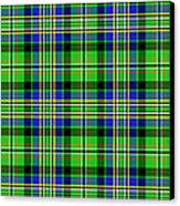 Scott Tartan Variant Canvas Print by Gregory Scott