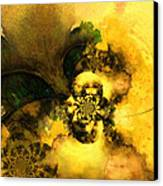 Scream Of Nature Canvas Print by Miki De Goodaboom
