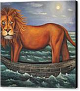 Sea Lion Softer Image Canvas Print by Leah Saulnier The Painting Maniac