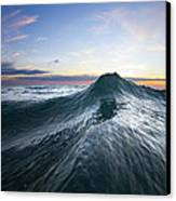 Sea Mountain Canvas Print by Sean Davey