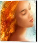 Sea Nymph Dream Canvas Print by Michael Rock