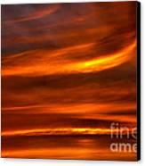Sea Of Sun Canvas Print by Alan Look