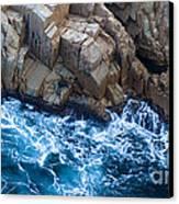 Sea Rocks Canvas Print by Frank Tschakert