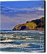 Seacape Canvas Print by Robert Bales