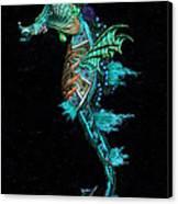 Seahorse II Underwater Ripple Canvas Print