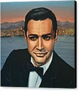 Sean Connery As James Bond Canvas Print