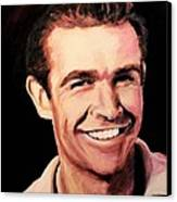 Sean Connery Canvas Print by Shirl Theis