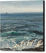 Seascape 1877 Canvas Print by Henry Moore