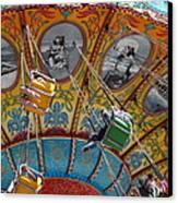 Seaswings At Santa Cruz Beach Boardwalk California 5d23906 Canvas Print