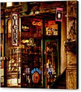 Seattle Cigar Shop Canvas Print