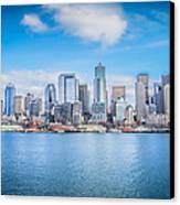 Seattle Days Canvas Print by Shelby Hall