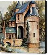 Secluded Castle Canvas Print