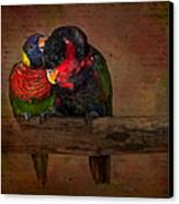 Secrets Canvas Print by Susan Candelario