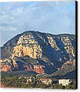 Sedona Arizona Panoramic Canvas Print by Mike McGlothlen