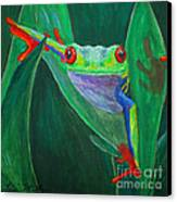 Seeing Eye To Eye Canvas Print by Terri Maddin-Miller