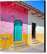 Seeing Pink In Latin America - Granada Canvas Print by Mark E Tisdale