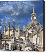 Segovia Gothic Cathedral Canvas Print by Ivy Ho