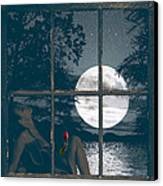 Selene Canvas Print by Torie Tiffany