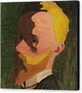 Self Portrait Canvas Print by Edouard Vuillard