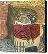 Subconcious Self Portrait Canvas Print