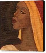 Semi-abstract- Woman Canvas Print