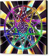 Sense Creation Five Canvas Print by Derek Gedney