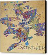 Serenity Canvas Print by Soumya Bouchachi